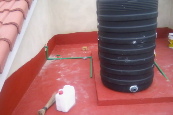 Waterproofing of Roof Terrace Using New Coat1