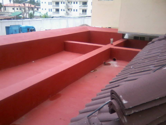Waterproofing of Roof Terrace Using New Coat2