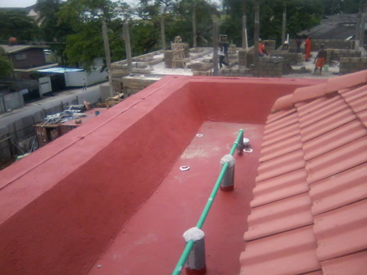 Waterproofing of Roof Terrace Using New Coat4