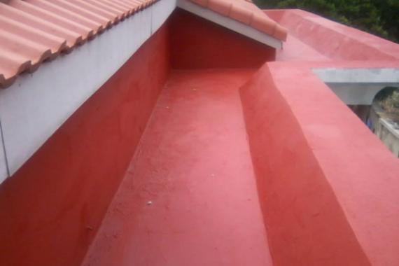 Waterproofing of Roof Terrace Using New Coat5