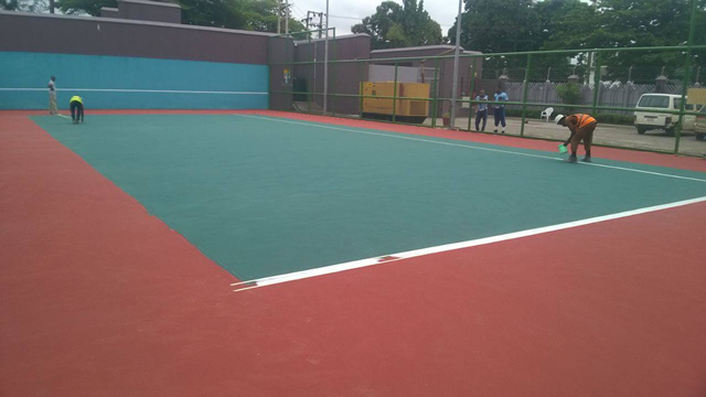 Repair of Basket Ball Court11