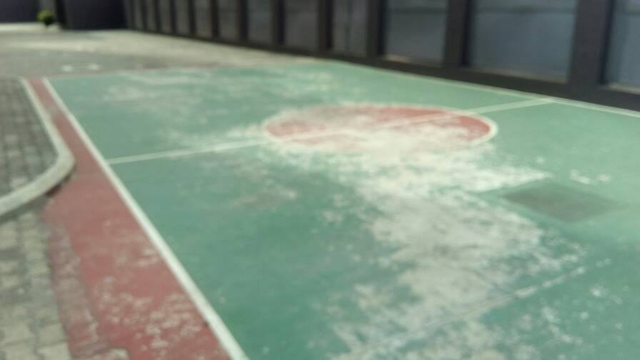 Repair of Basket Ball Court21