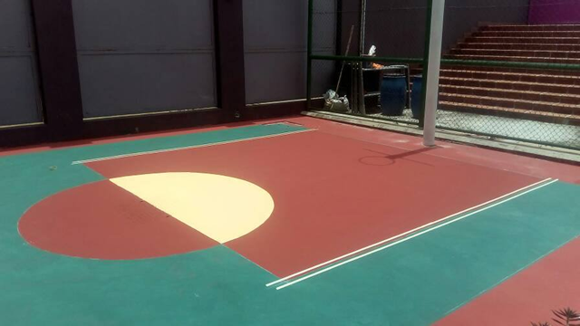 Repair of Basket Ball Court3